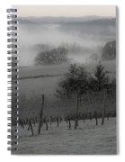 Winter Vineyard Spiral Notebook