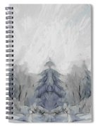 Wintertime Spiral Notebook