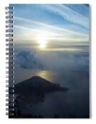 Wizard Sunrise Spiral Notebook