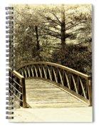 Wooden Bridge Spiral Notebook