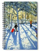 Woodland In Winter Spiral Notebook