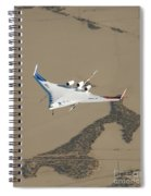 X-48b Blended Wing Body Spiral Notebook