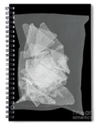 X-ray Of A Bag Of Corn Chips Spiral Notebook