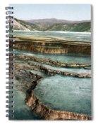 Yellowstone: Hot Spring Spiral Notebook