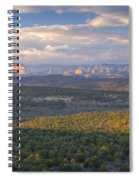 Zion Distant Spiral Notebook