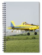 Airplane Spiral Notebook