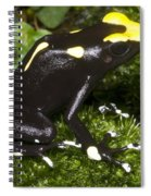 Dyeing Poison Frog Spiral Notebook