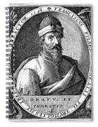 Francisco Pizarro Spiral Notebook