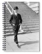 Franklin Delano Roosevelt Spiral Notebook