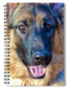 10-month-old Shepherd 2 Spiral Notebook