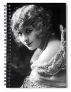 Pearl White (1889-1938) Spiral Notebook
