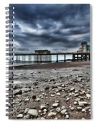 Penarth Pier Spiral Notebook