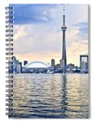 Toronto Skyline Spiral Notebook