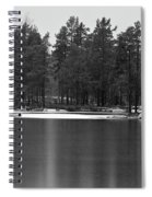 Haukkajarvi First Snow Spiral Notebook