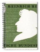 Heinrich Heine (1797-1856) Spiral Notebook