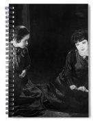 Silent Film Still: Women Spiral Notebook
