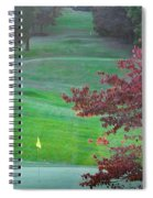 11th Hole At Clarksville C C Spiral Notebook