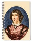 Nicolaus Copernicus, Polish Astronomer Spiral Notebook