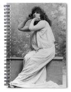 Sarah Bernhardt (1844-1923) Spiral Notebook