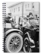 Silent Film: Automobiles Spiral Notebook