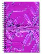Snowflake Spiral Notebook
