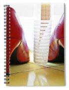 Pumps Spiral Notebook