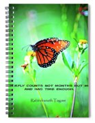 14- The Butterfly Spiral Notebook