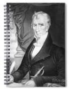 William Henry Harrison Spiral Notebook