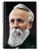 Rutherford B. Hayes Spiral Notebook