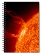Solar Prominence Spiral Notebook