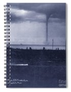 Waterspout Spiral Notebook