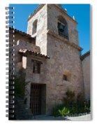 Gardens In Carmel Monastery Spiral Notebook