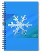 Snow Crystal Spiral Notebook