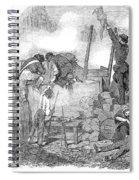 France: Revolution Of 1848 Spiral Notebook