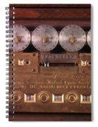 17th Century Calculating Machine Spiral Notebook