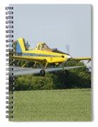 Plane Spiral Notebook