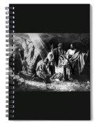 1898 Artwork Of Nativity Scene At Nativity Church Spiral Notebook