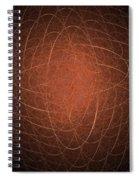 Fractal Image Spiral Notebook