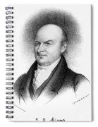 John Quincy Adams Spiral Notebook