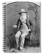 Walt Whitman (1819-1892) Spiral Notebook