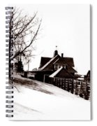 1900 Farm Home Spiral Notebook