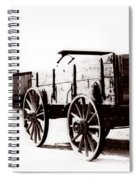 1900 Wagon Spiral Notebook
