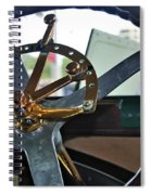 1913 Chalmers - Steering Wheel Spiral Notebook