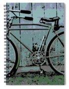 1918 Harley Davidson Bicycle Spiral Notebook