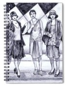1920s Styles Spiral Notebook