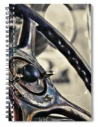 1924 Packard - Steering Wheel Spiral Notebook