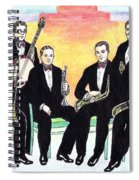 1927 New Yorkers Jazz Band Spiral Notebook