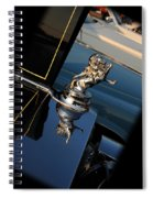 1928 Franklin Sedan Hood Ornament Spiral Notebook
