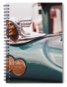 1928 Pontiac Sedan Chief Of The Sixes Spiral Notebook