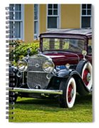 1931 Cadillac V12 Spiral Notebook